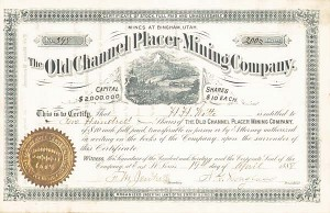 Old Channel Placer Mining Co
