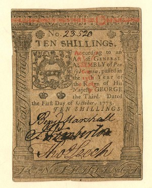 Colonial Currency - FR PA-167