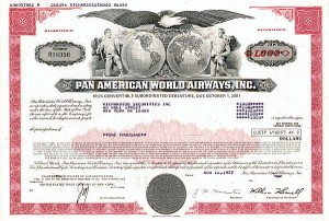Pan American World Airways, Inc - 50 Pieces