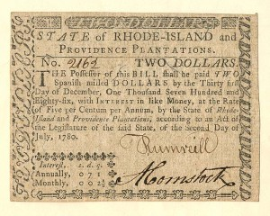 Colonial Currency - FR RI-283