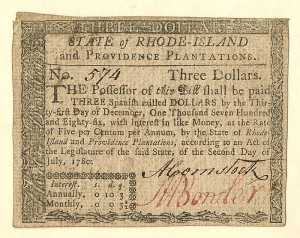 Colonial Currency - FR RI-284