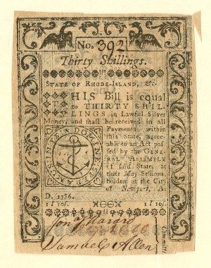 Colonial Currency - FR RI-299