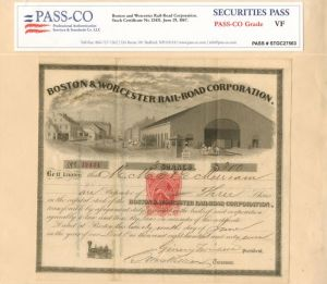Boston & Worcester Railroad Corporation