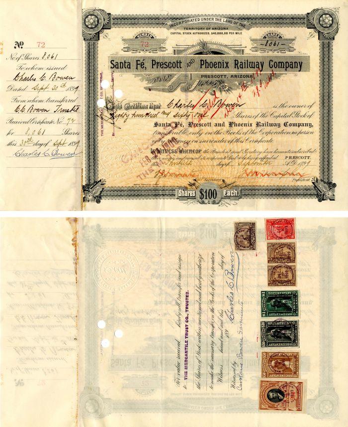 Santa Fe, Prescott and Phoenix Railway Company