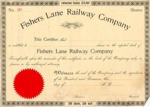 Collectible Railroad Stocks, Antique Railroad Stock Certificates