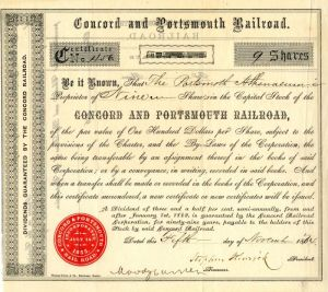 Concord and Portsmouth Railroad