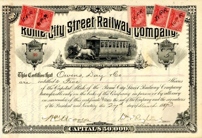 Rome City Street Railway Company