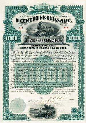 Richmond, Nicholasville, Irvine & Beattyville Railroad