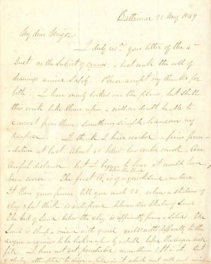 ALS, Autographed letter signed by Robert E. Lee  - SOLD
