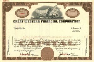 Great Western Financial Corporation