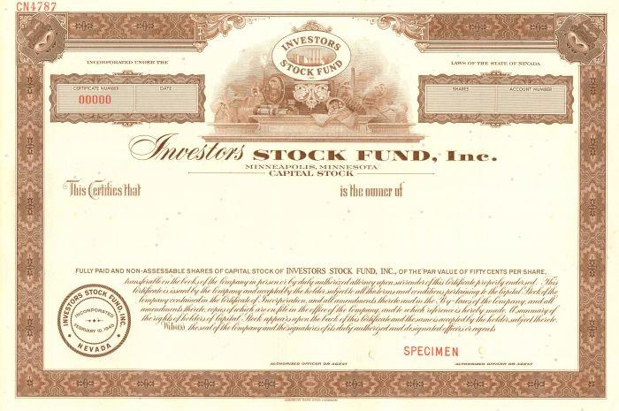 Investors Stock Fund, Inc.