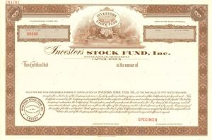 Investors Stock Fund, Inc.