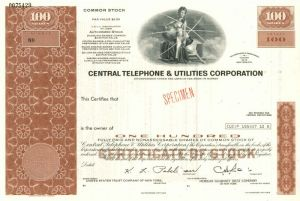 Central Telephone & Utilities Corporation