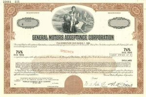 General Motors Acceptance Corporation - SOLD