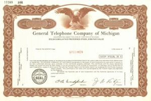 General Telephone Company of Michigan