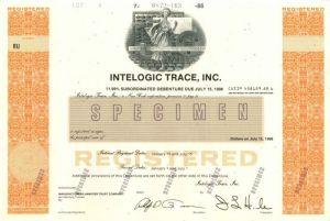 Stock Certificate Inc Jones /& Laughlin Industries