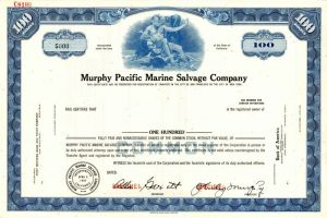 Murphy Pacific Marine Salvage Company - SOLD