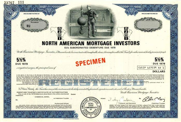 North American Mortgage Investors - Bond