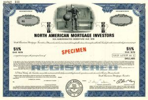 North American Mortgage Investors - Bond - SOLD