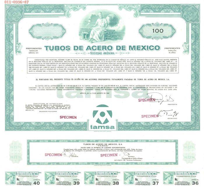 Tubos De Acero De Mexico - Bond