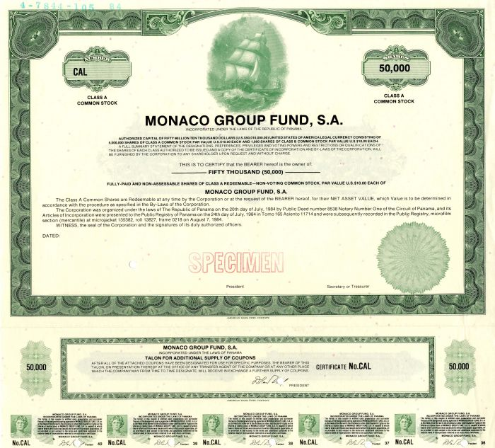 Monaco Group Fund, S.A.