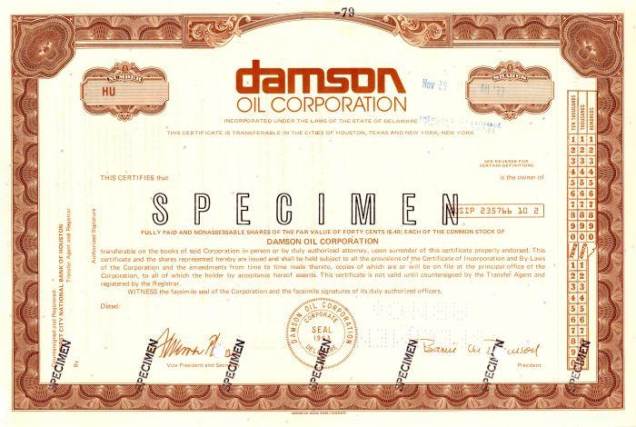 Damson Oil Corporation