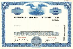 Pennsylvania Real Estate Investment Trust