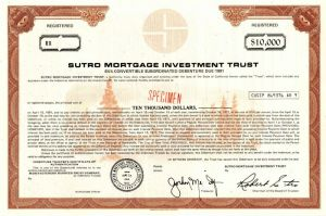 Sutro Mortgage Investment Trust