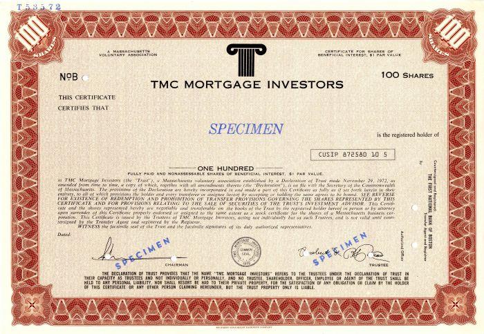 TMC Mortgage Investors