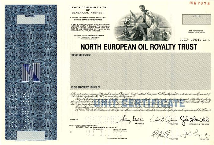 North European Oil Royalty Trust