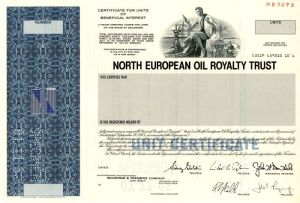 North European Oil Royalty Trust