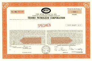 Tesoro Petroleum Corporation