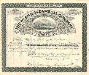 Weems Steamboat Company