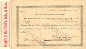 Companhia Colonial De Navegacao Bond Stock Certificate Portugal Steamboat 50