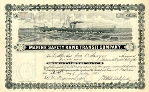 Marine Safety Rapid Transit Company