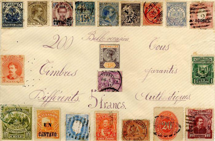 Antique Stamp Packet