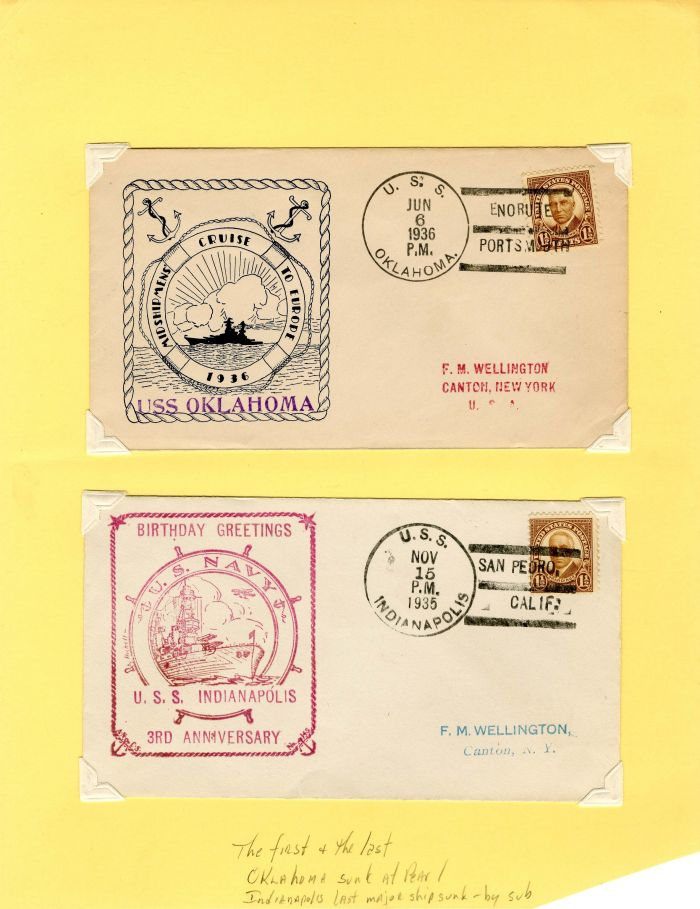 Pair of Covers with Stamps