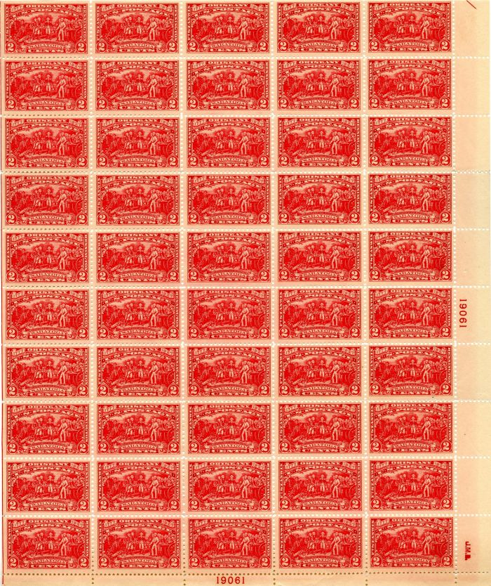 Scott #644 Stamp Sheet