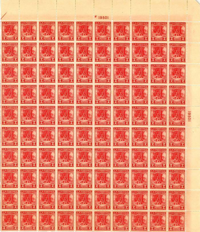 Scott #645 Stamp Sheet