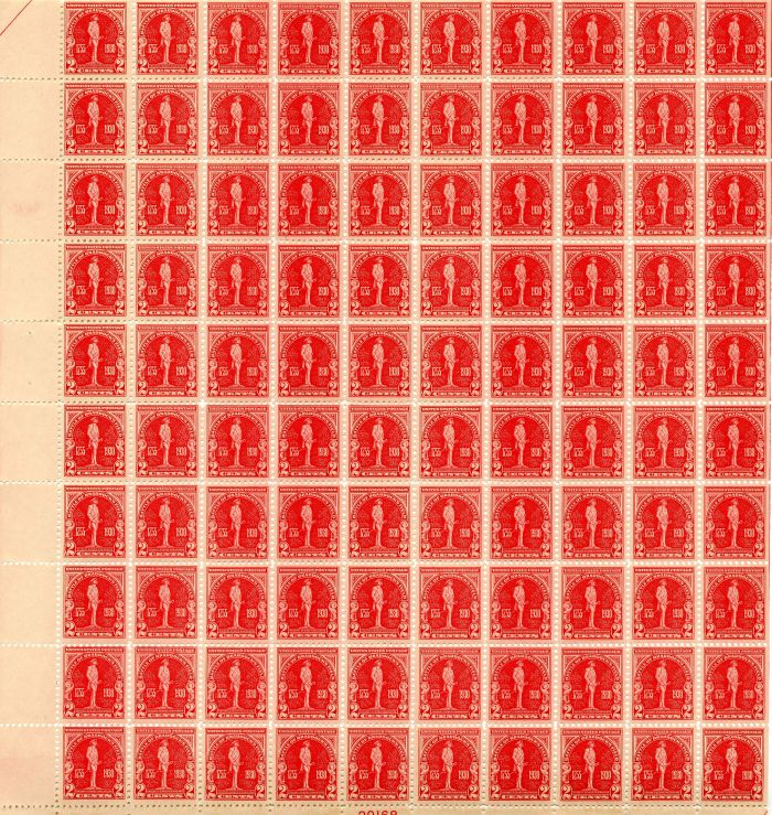 Scott #688 Stamp Sheet