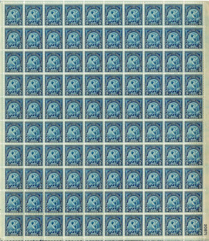 Scott #719 Stamp Sheet