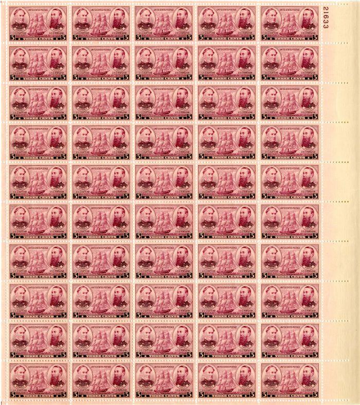 Scott #792 Stamp Sheet