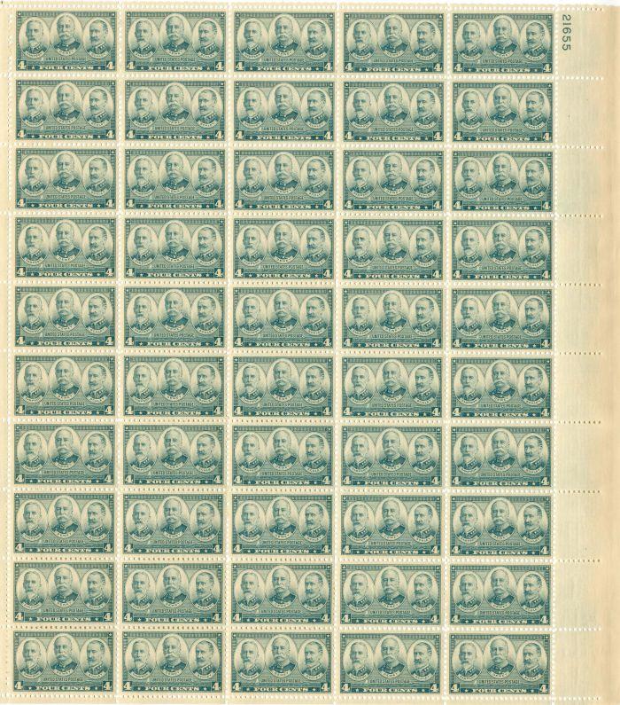 Scott #793 Stamp Sheet