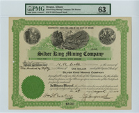Silber King Mining Company