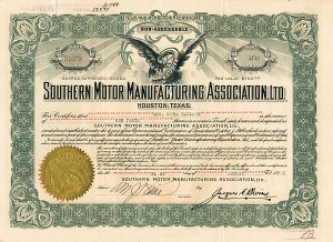 Collectible Automotive Stocks Automotive Stock Certificates