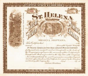 St. Helena Consolidated Gold and Silver Mining Co