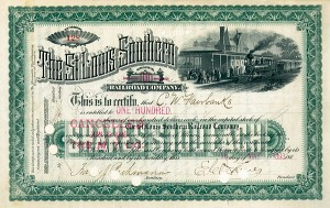 Charles W. Fairbanks - St. Louis Southern Railroad
