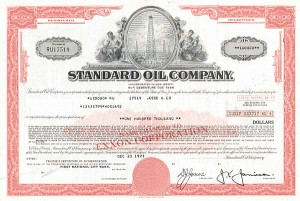 Standard Oil Co - 50 Pieces