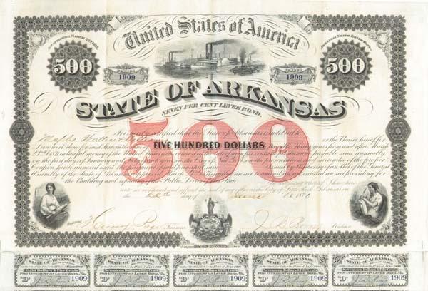 State of Arkansas Levee Bond