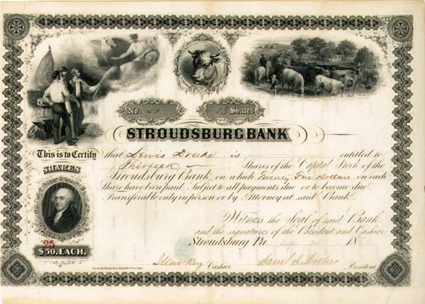 Stroudsburg Bank